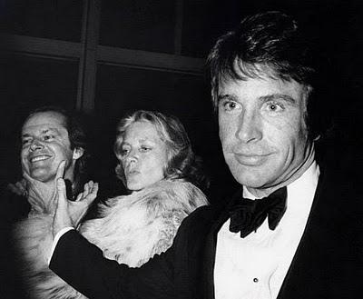 Warren Beatty, Lauren Bacall, Jack Nicolson