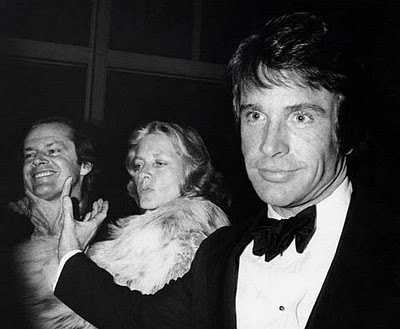 Warren Beatty, Lauren Bacall, Jack Nicolson